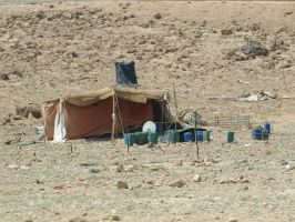 A Bedouin tent by BigA-nt