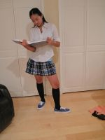 Private School  Girl 19 by imagine-stock