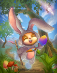 Cottontail Teemo by KonoArt