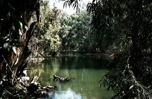 Jordan River by Fotomonta