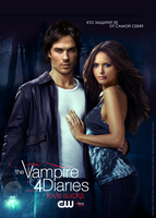 DAMON AND ELENA | TVD poster - season 4 by MissAlesia