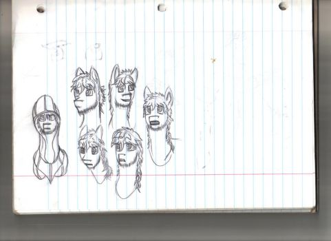 Expression Practice by dragonsforeverlive