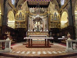 The Sanctuary And High Altar by BretWalda1X