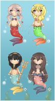 Mermaid Adopt Set [CLOSED] by WanNyan