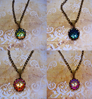 Mother of Dragons Necklace by Onlystar