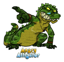 Alligator glasses by Heros-Shadow