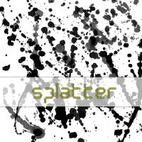 Splatter Brush by Beklagen