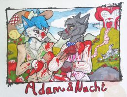Adam-and-natch-room-sign by TheArtyMadCow
