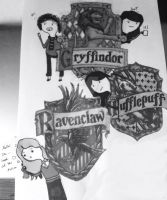 Introducing you to Hogwarts. by daydreamer449