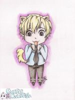 Tamaki Suoh - Ouran Highschool Host Club by purplegoldfish14