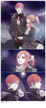 EE : New year's eve by Haru-Tchi