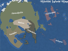 Mielliki World Map by Ousuat-Csat