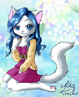 Art trade with RatTheCat - Jazmin by Glas-Fuchs
