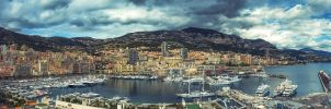 Panorama Monte Carlo SeaPort by IoanBalasanu