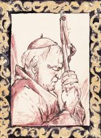 John Paul II by Aodhagain