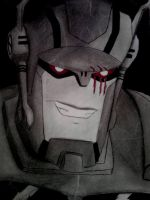 Optimus Feral Howls II by SALVAGEPRIME8686