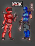 Arcade Tributes - NARC - Colored by HJTHX1138