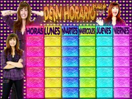DEEMII HORARIO BY ALE.M by DDLoveEditions