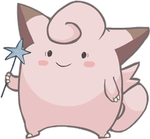 Clefairy by HappyCrumble