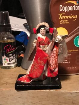 Japanese geisha girl figer  by Lord-Lily
