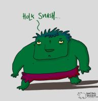 Hulk Smash by ThereisnoD