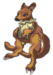 Fakemon: Alluroo by CrimsonVampiress