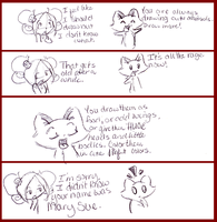 Comic Cute Animals Mary Sues by FyreLilly