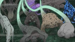 Tailed Beasts Released by weissdrum