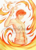 Roy Mustang - Hot flames by SilveryLugia