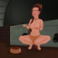 Leia's Training by Rellen