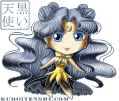 Big Head Chibi Human Luna by kuroitenshi13