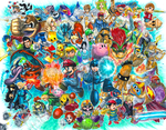 Super Smash Bros. for 3DS and Wii U!! by matsuyama-takeshi