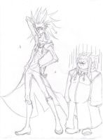 Axel makes Saix look... by therichnobody