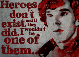Don't Make People Into Heroes, John. by the-improbable-ive