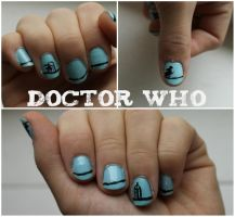 Doctor who nails by NellyL