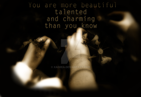 You Are More by Xadrea