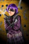 Hit Girl | Avengers fuckin' assemble, asshole. by excarlabur
