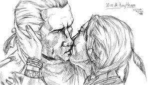 Just too close to love you (Ziio and Haytham) by Mariya14