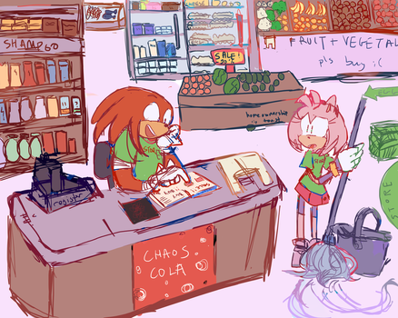 groceries au by theultimatenootnoot