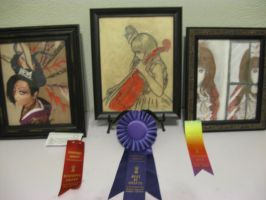 My awards from Rembrandt by VanityElric