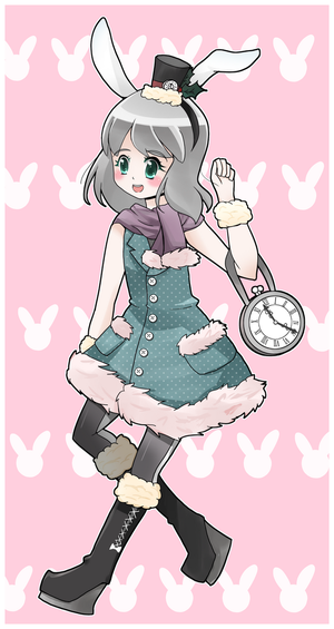 Winter Bunny by mgcoco