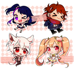 Baby Chibi Batch #1 by leyalluna