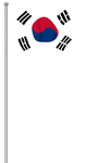Flag of South Korea by llmatako