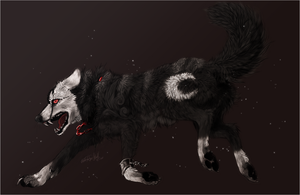AT .:Destruction:. by WhiteSpiritWolf