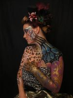 my favourite things body paint by alanaMUA