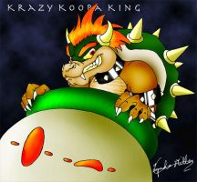 Krazy Koopa King by zelink14