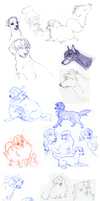 Ouran doggie doodles by shelzie