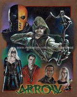 Arrow (2014) by scotty309