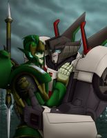 Jack and Drift by Wrecker-lady