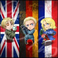 Hetalia redux Bookmark by oneoftwo